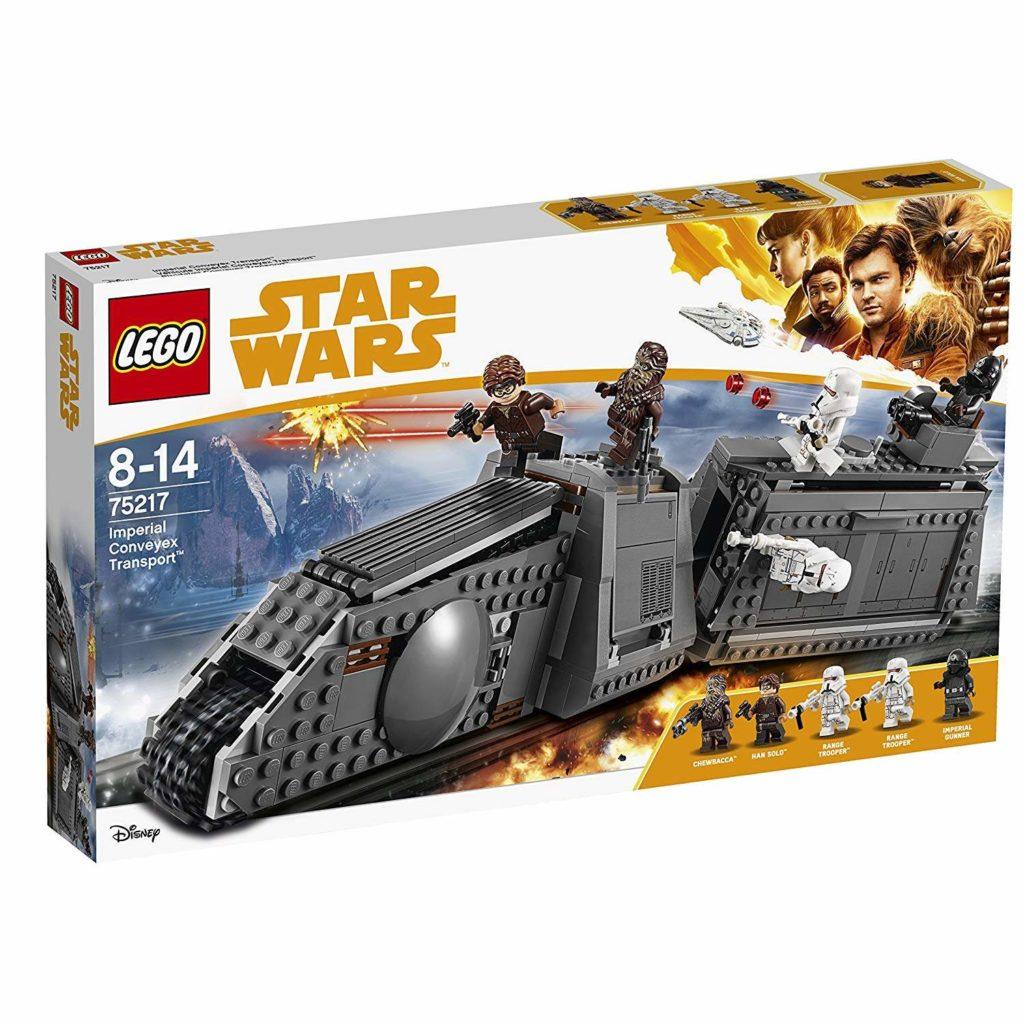 LEGO® Star Wars™ Imperialer Conveyex Transport (75217) Packung Vorderseite | ©2018 LEGO Gruppe