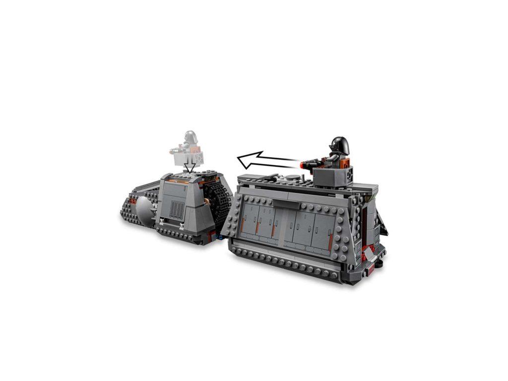 LEGO® Star Wars™ Imperialer Conveyex Transport (75217) Schützenturm | ©2018 LEGO Gruppe
