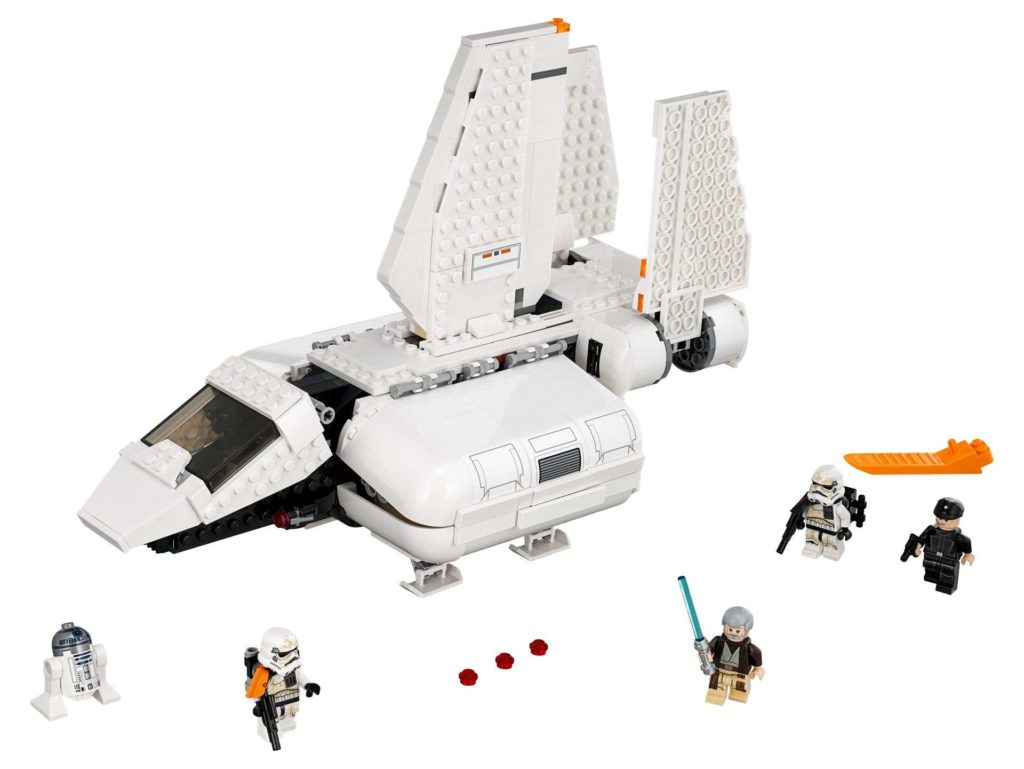 LEGO® Star Wars™ Imperiale Landefähre (75221) - Set | ©2018 LEGO Gruppe