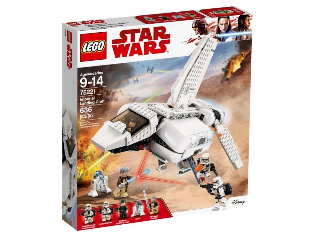 LEGO® Star Wars™ Imperiale Landefähre (75221) - Packung Vorderseite | ©2018 LEGO Gruppe