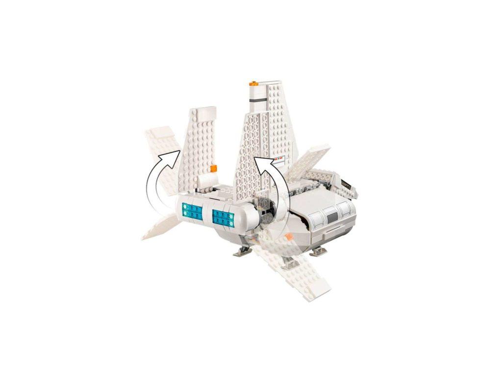 LEGO® Star Wars™ Imperiale Landefähre (75221) - Flügel einklappbar | ©2018 LEGO Gruppe