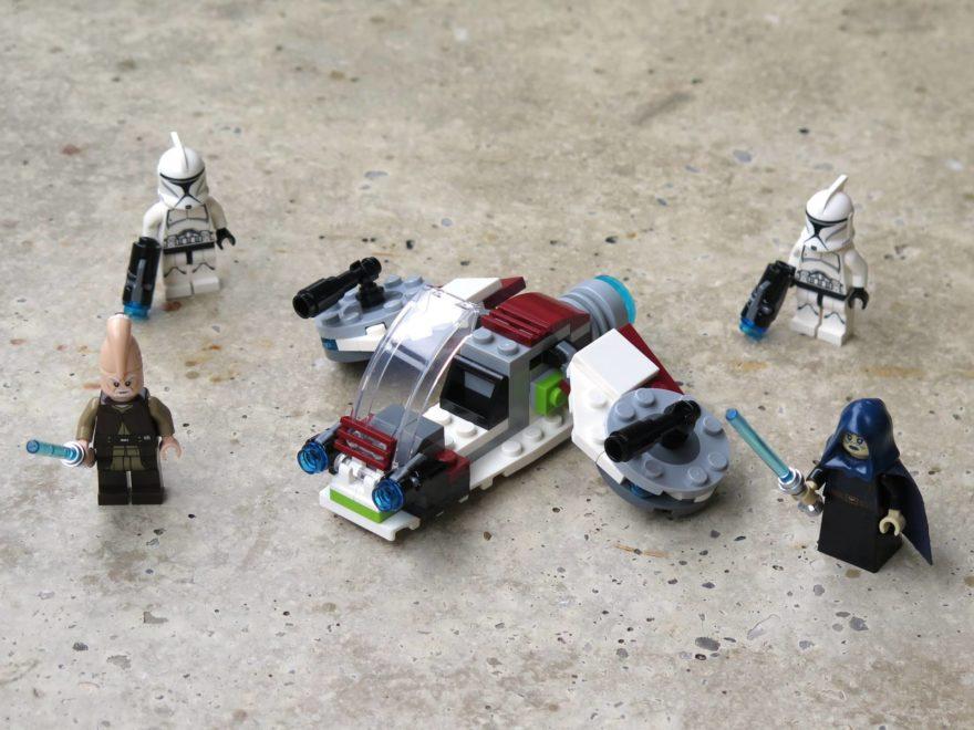 LEGO® Star Wars™ Jedi™ und Clone Troopers™ Battle Pack (75206) - Titelbild   ©2018 Brickzeit