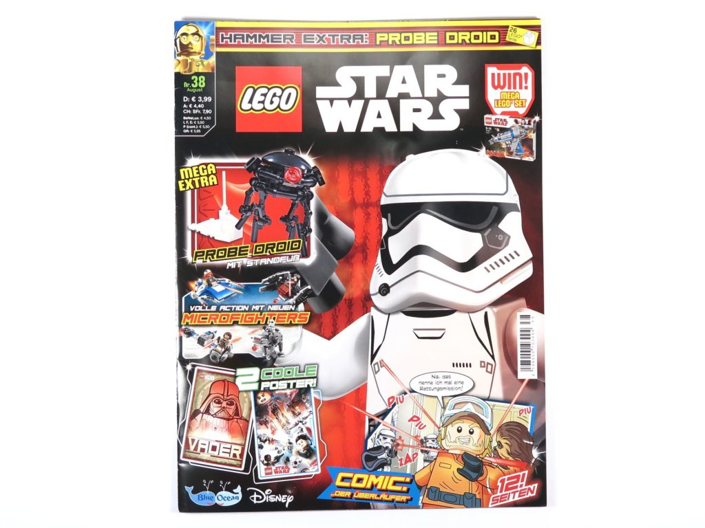 LEGO® Star Wars™ Magazin Nr. 38 - Cover | ©Brickzeit