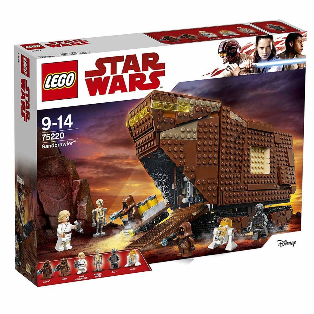 LEGO® Star Wars™ Sandcrawler (75220) Packung Vorderseite | ©2018 LEGO Gruppe