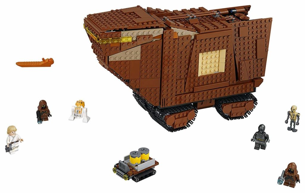 LEGO® Star Wars™ Sandcrawler (75220) Set | ©2018 LEGO Gruppe
