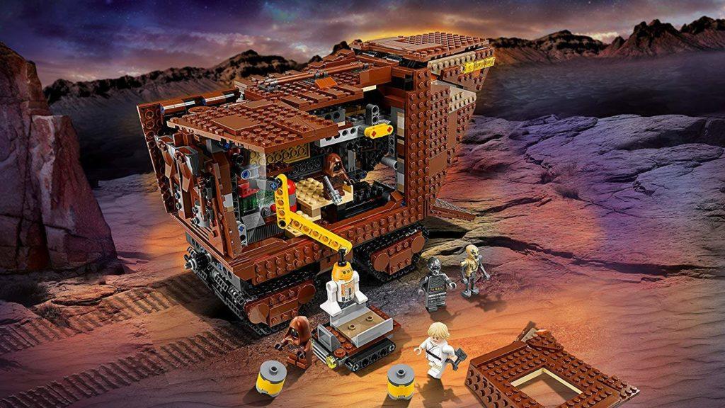 LEGO® Star Wars™ Sandcrawler (75220) Sandcrawler mit Hintergrund | ©2018 LEGO Gruppe