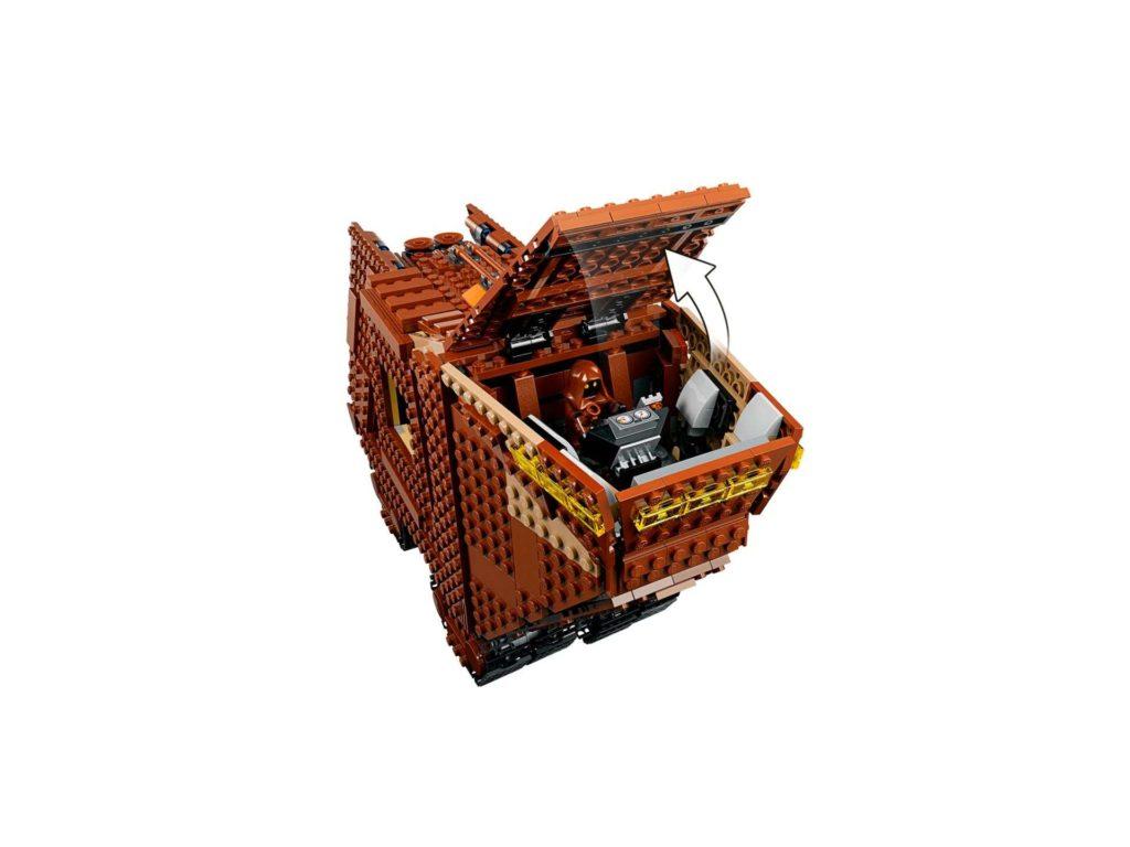 LEGO® Star Wars™ Sandcrawler (75220) - Cockpit | ©2018 LEGO Gruppe