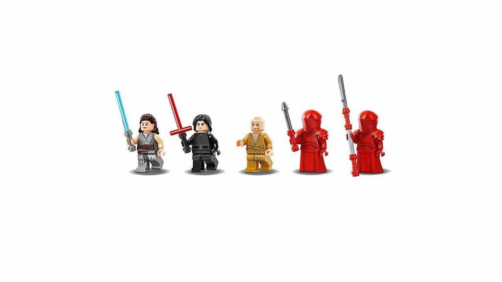 LEGO® Star Wars™ Snokes Thronsaal (75216) Minifiguren | ©2018 LEGO Gruppe