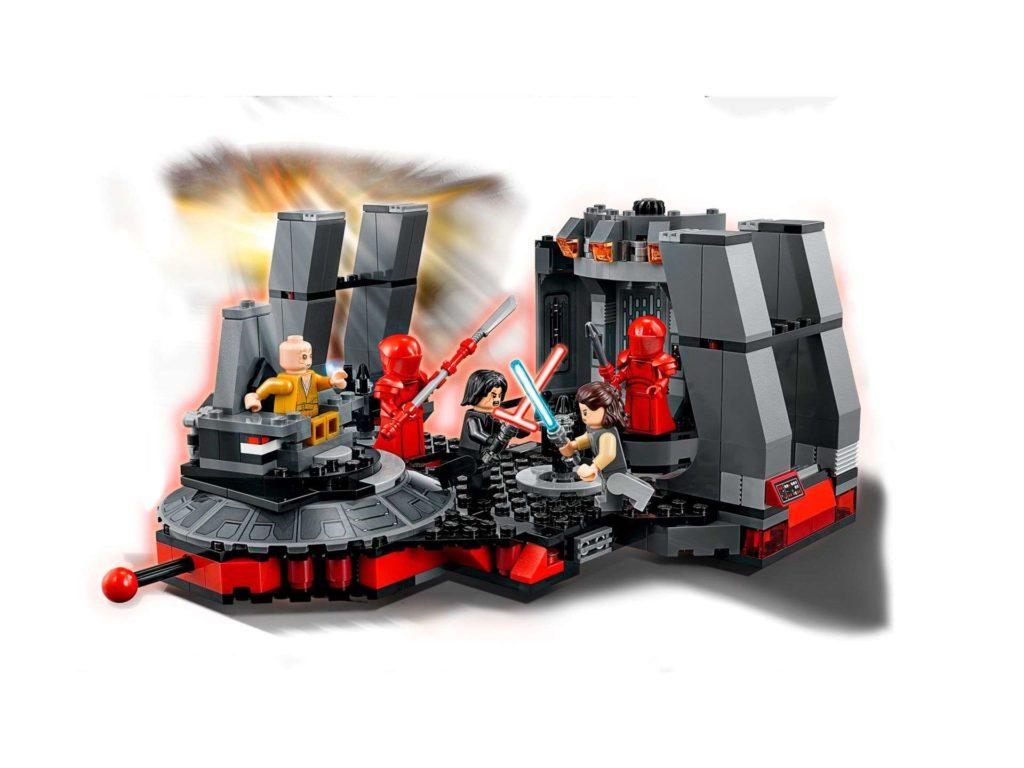 LEGO® Star Wars™ Snokes Thronsaal (75216) Set mit Effekten | ©2018 LEGO Gruppe