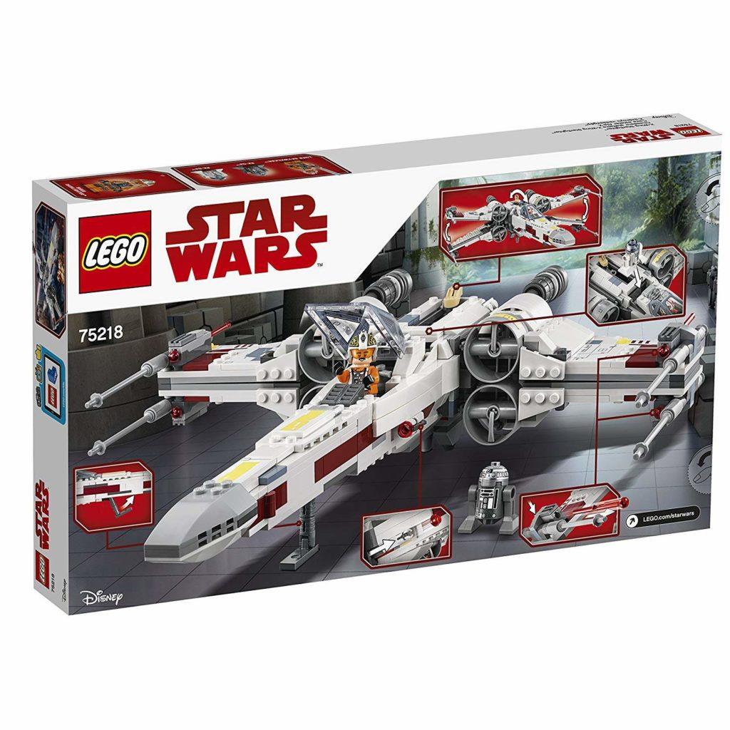 LEGO® Star Wars™ X-Wing Starfighter (75219) Packung Rückseite | ©2018 LEGO Gruppe