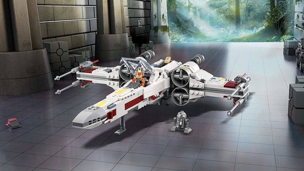 LEGO® Star Wars™ X-Wing Starfighter (75219) im Hangar | ©2018 LEGO Gruppe