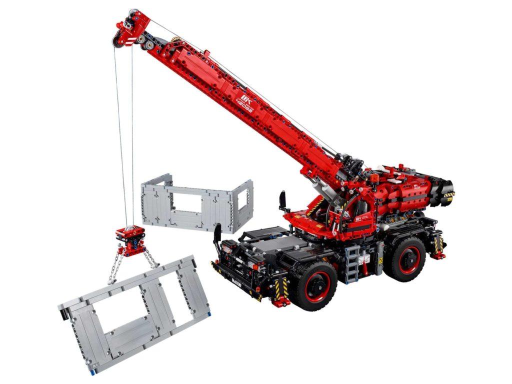LEGO® Technic Geländegängiger Kranwagen (42082) - LEGO® Schnäppchen am 22.10.2018 | ®LEGO Gruppe