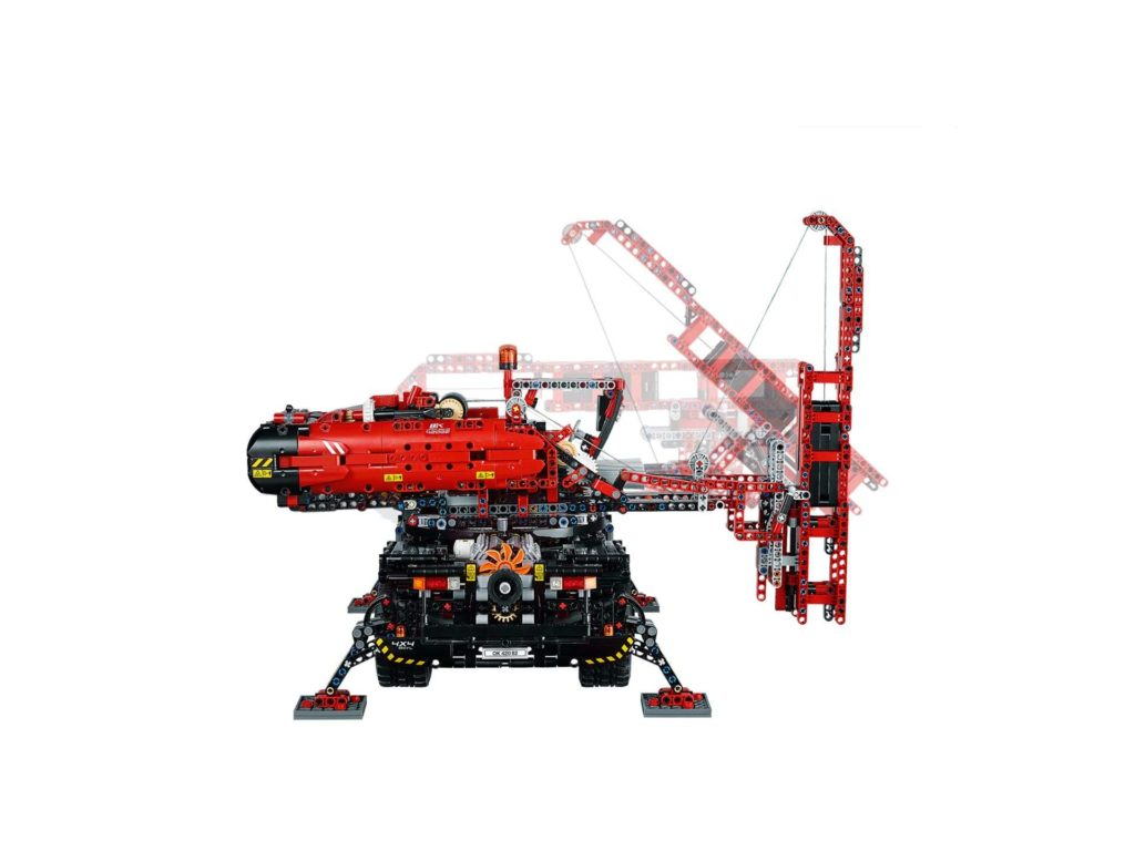 LEGO Technic Geländegängiger Kranwagen (42082) - Alternatives Modell in Aktion | ®LEGO Gruppe