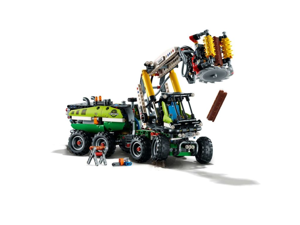 LEGO Technic Harvester Forstmaschine (42080) - Set | ®LEGO Gruppe
