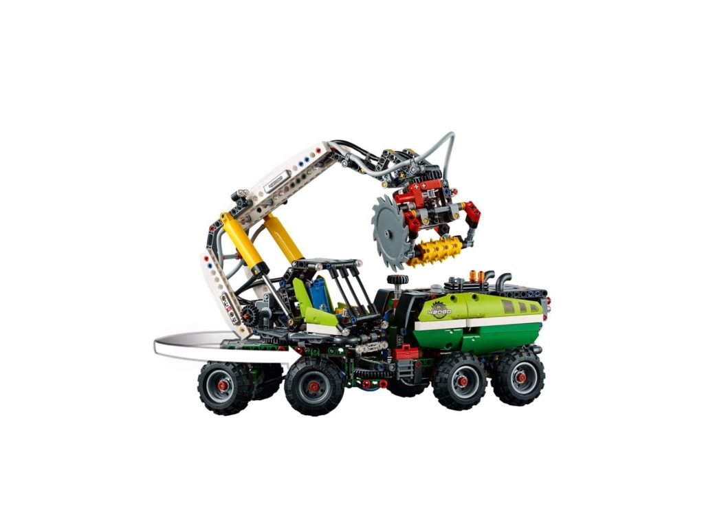 LEGO Technic Harvester Forstmaschine (42080) - Set Funktion | ®LEGO Gruppe
