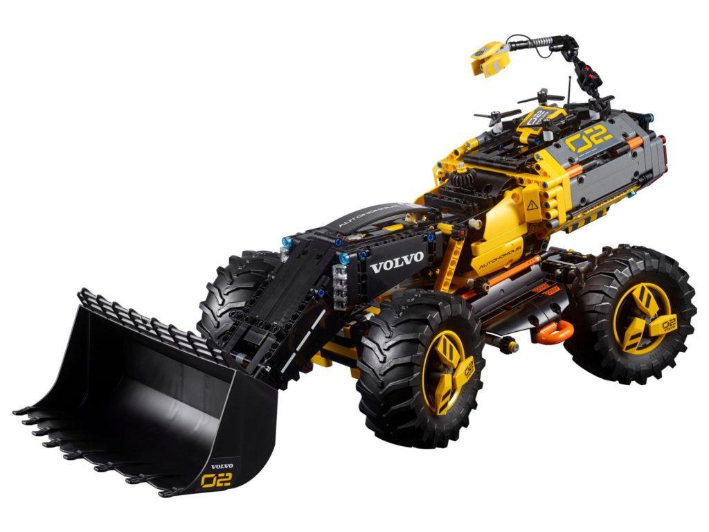 LEGO® Technic Volvo Konzept-Radlader ZEUX (42081) - Bild 1 | ©2018 LEGO Gruppe