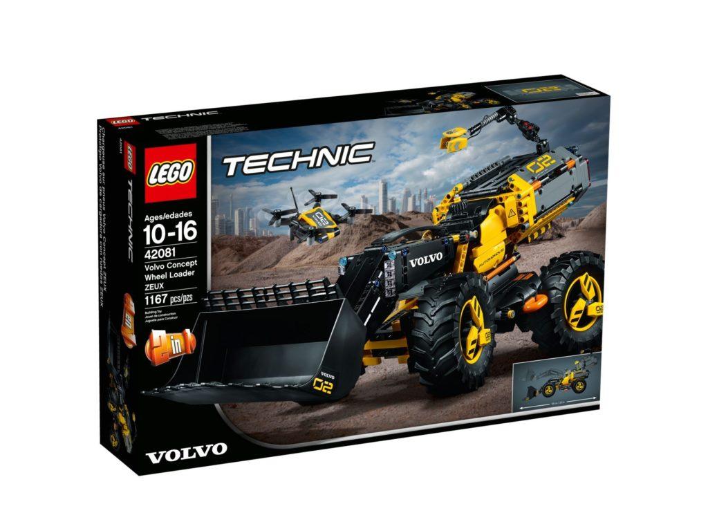 LEGO® Technic Volvo Konzept-Radlader ZEUX (42081) - Bild 2 | ©2018 LEGO Gruppe