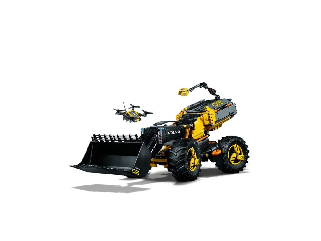 LEGO® Technic Volvo Konzept-Radlader ZEUX (42081) - Bild 3 | ©2018 LEGO Gruppe
