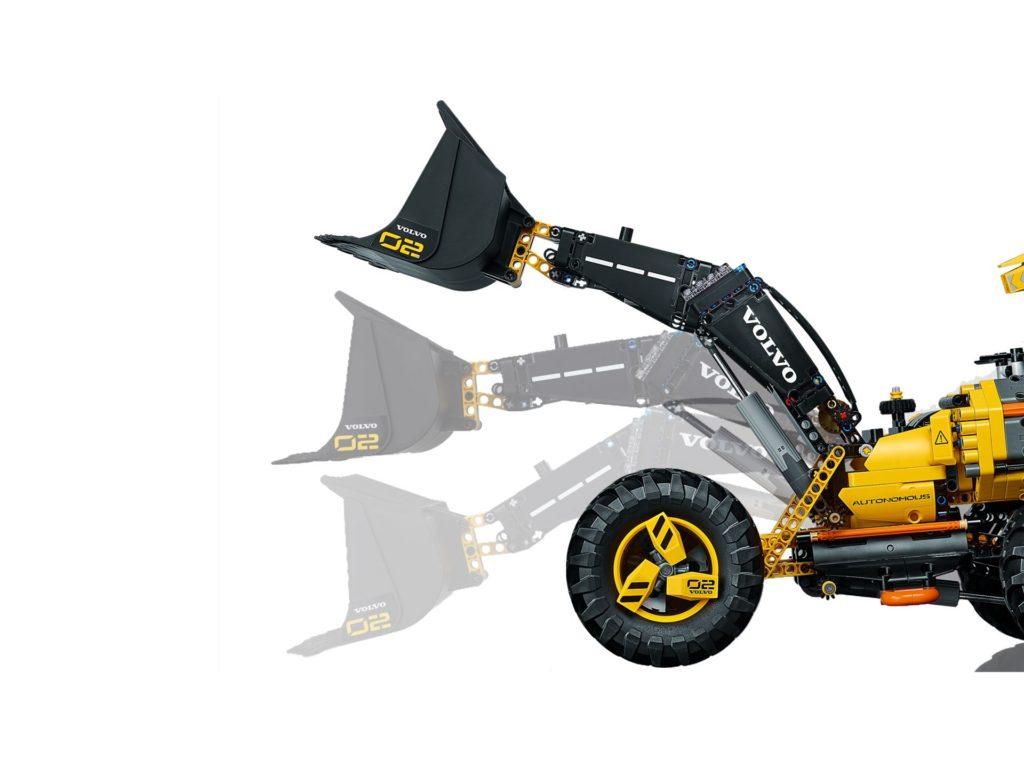 LEGO® Technic Volvo Konzept-Radlader ZEUX (42081) - Bild 5 | ©2018 LEGO Gruppe
