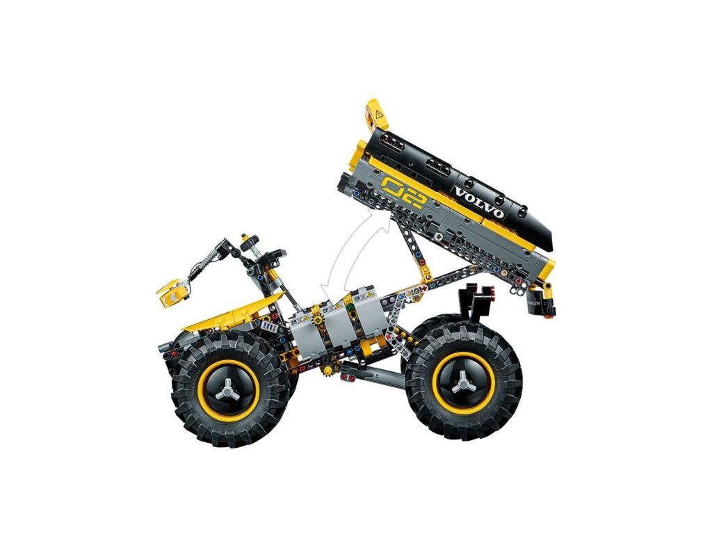 LEGO® Technic Volvo Konzept-Radlader ZEUX (42081) - Bild 7 | ©2018 LEGO Gruppe