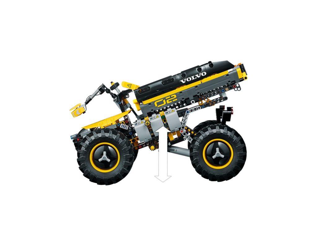 LEGO® Technic Volvo Konzept-Radlader ZEUX (42081) - Bild 8 | ©2018 LEGO Gruppe