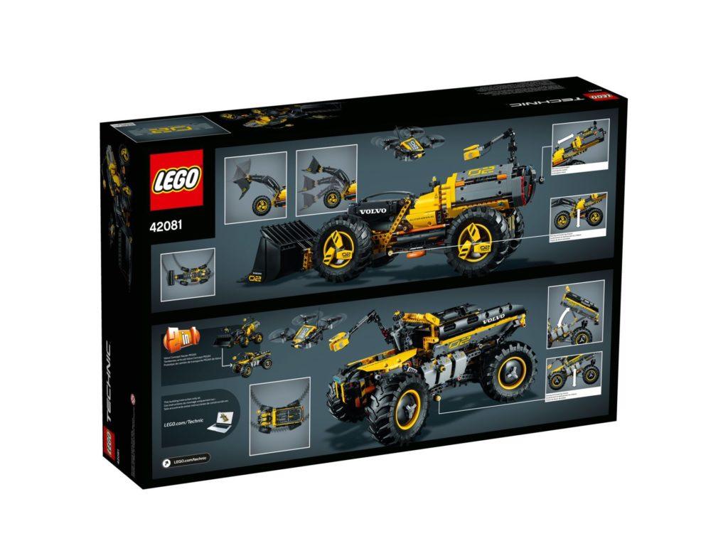 LEGO® Technic Volvo Konzept-Radlader ZEUX (42081) - Bild 9 | ©2018 LEGO Gruppe