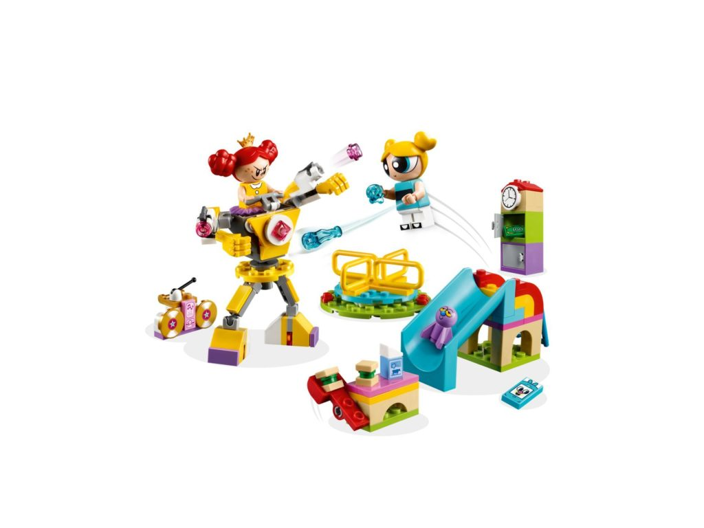 LEGO® The Powerpuff Girls Bubbles' Spielplatzabenteuer (41287) - Bild 3 | ©2018 LEGO Gruppe