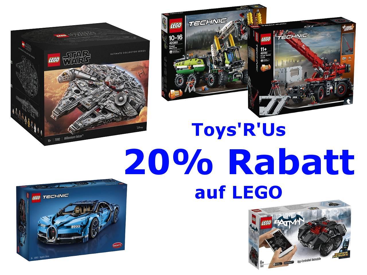 Toys R Us Lego Rabatt