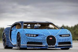 Fahrbahrer LEGO® Technic Bugatti Chiron in Originalgröße - Bild 02 | ©LEGO Gruppe