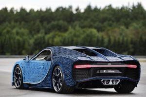 Fahrbahrer LEGO® Technic Bugatti Chiron in Originalgröße - Bild 04 | ©LEGO Gruppe