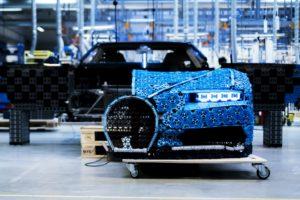 Fahrbahrer LEGO® Technic Bugatti Chiron in Originalgröße - Bild 08 | ©LEGO Gruppe