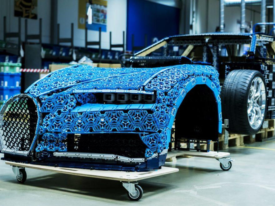 Fahrbahrer LEGO® Technic Bugatti Chiron in Originalgröße - Bild 09 | ©LEGO GruppeFahrbahrer LEGO® Technic Bugatti Chiron in Originalgröße - Bild 09 | ©LEGO Gruppe