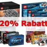 20 Prozent Rabatt auf LEGO bei GALERIA Kaufhof am 27/28. August 2018 | Brickzeit