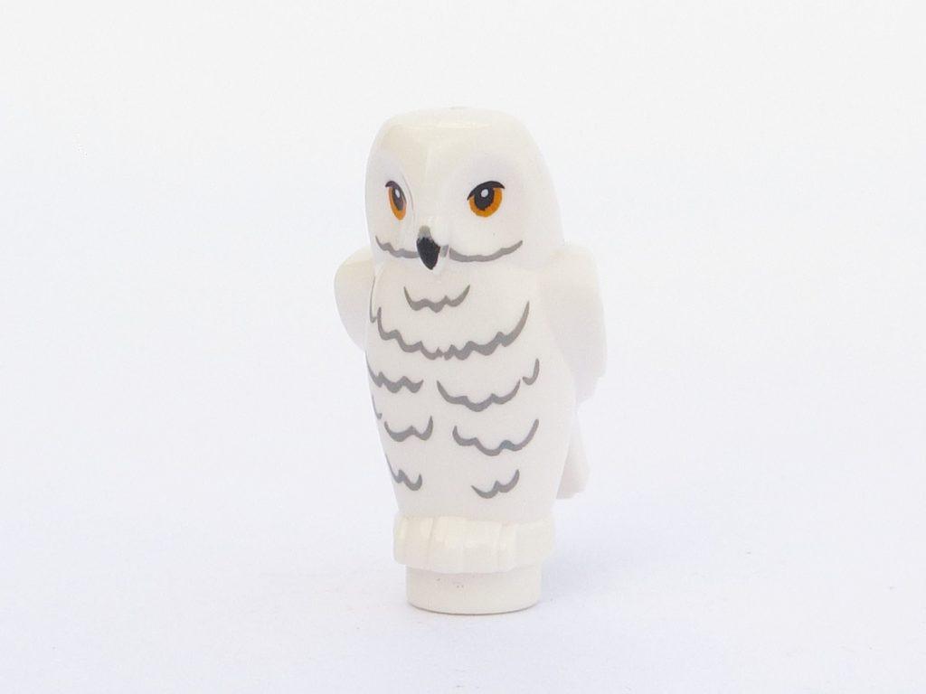 LEGO 71022 - Minifigur 01 - Eule Hedwig Vorderseite | ©2018 Brickzeit