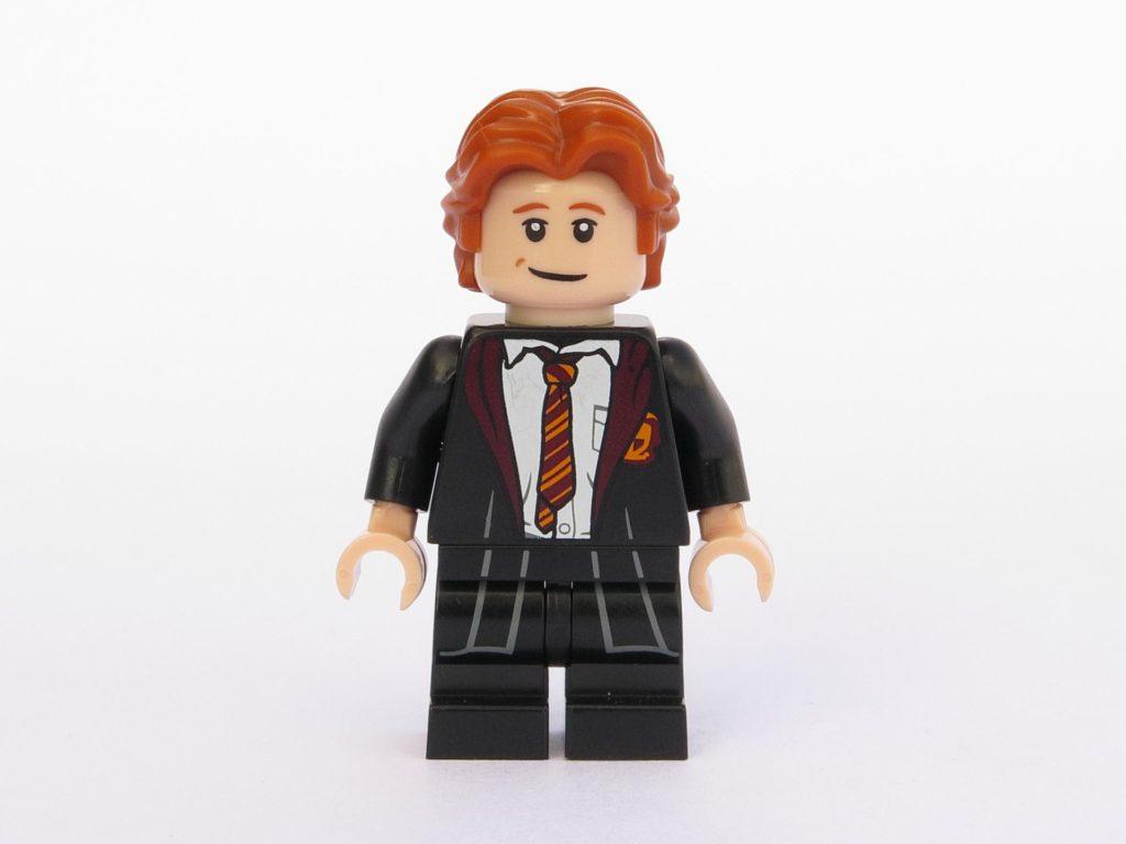 LEGO 71022 - Minifigur 03 - Ron Weasley in Schulkleidung - Vorderseite | ©2018 Brickzeit