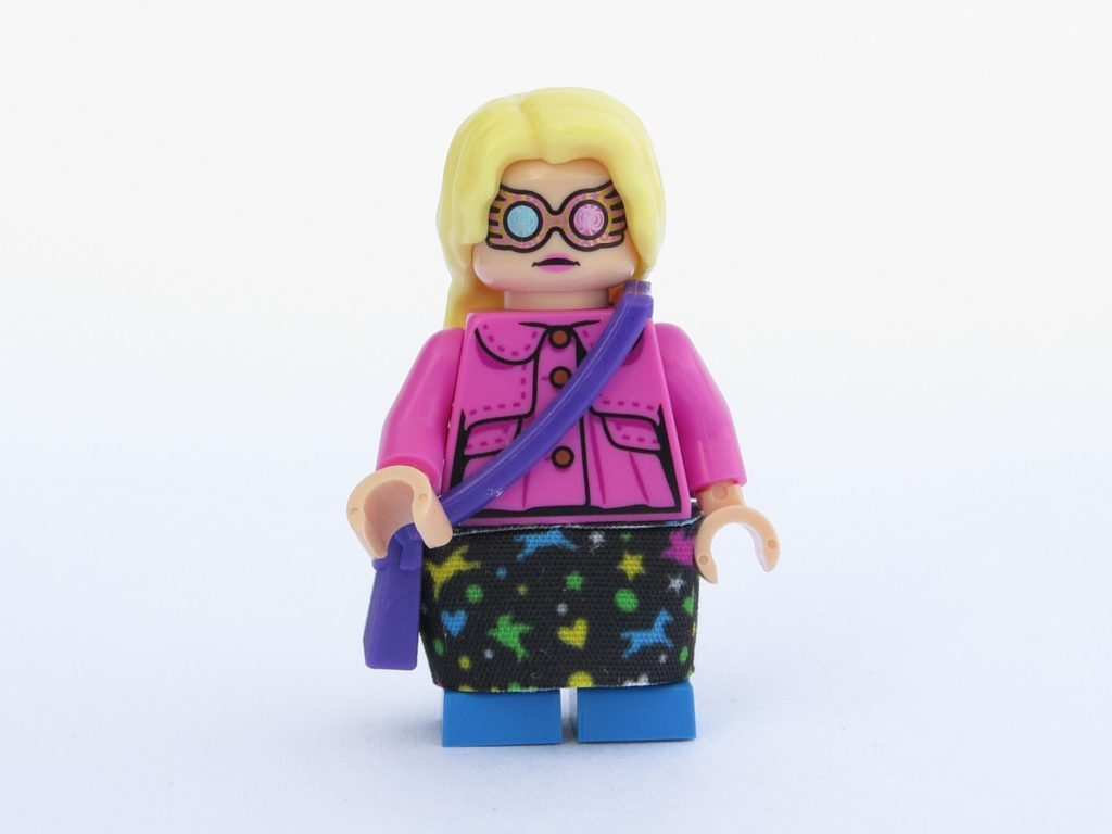 LEGO 71022 - Minifigur 05 - Luna Lovegood - Vorderseite, alternatives Gesicht | ©2018 Brickzeit
