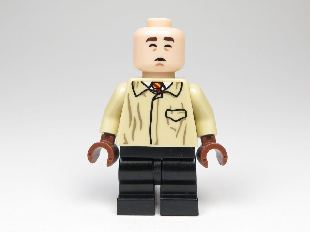 LEGO 71022 - Minifigur 06 - Neville Longbottom - alternatives Gesicht, ohne Haare | ©2018 Brickzeit