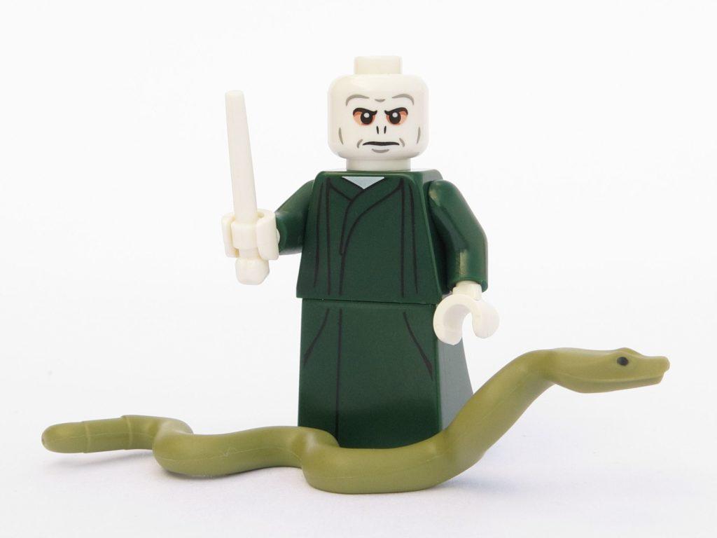 LEGO 71022 - Minifigur 09 - Lord Voldemort mit Schlange Nagini | ©2018 Brickzeit