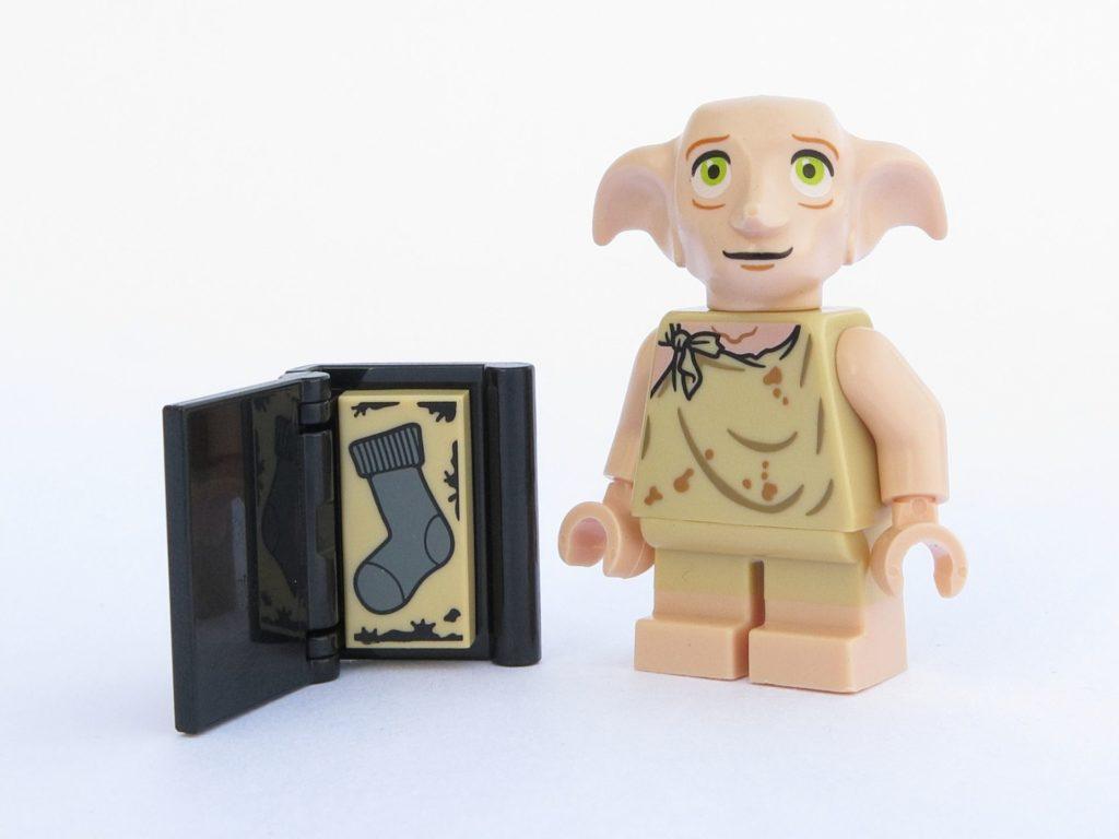LEGO 71022 - Minifigur 10 - Dobby mit Buch und Socke | ©2018 Brickzeit