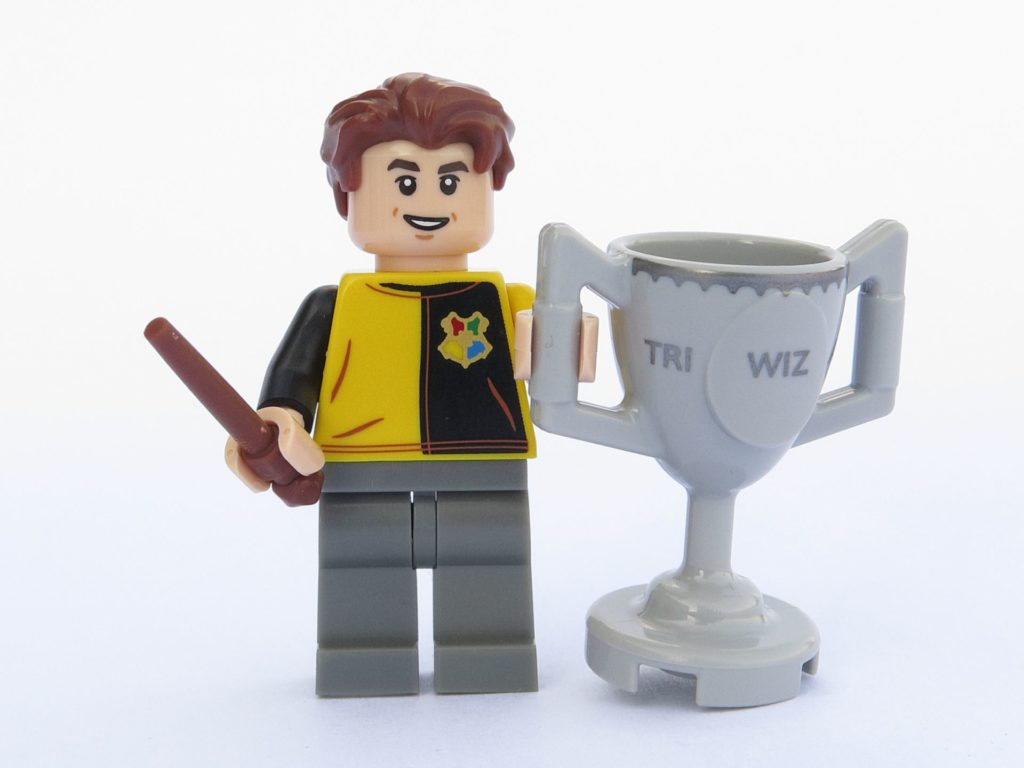 LEGO 71022 - Minifigur 12 - Cedric Diggory mit Trimagischem Pokal | ©2018 Brickzeit