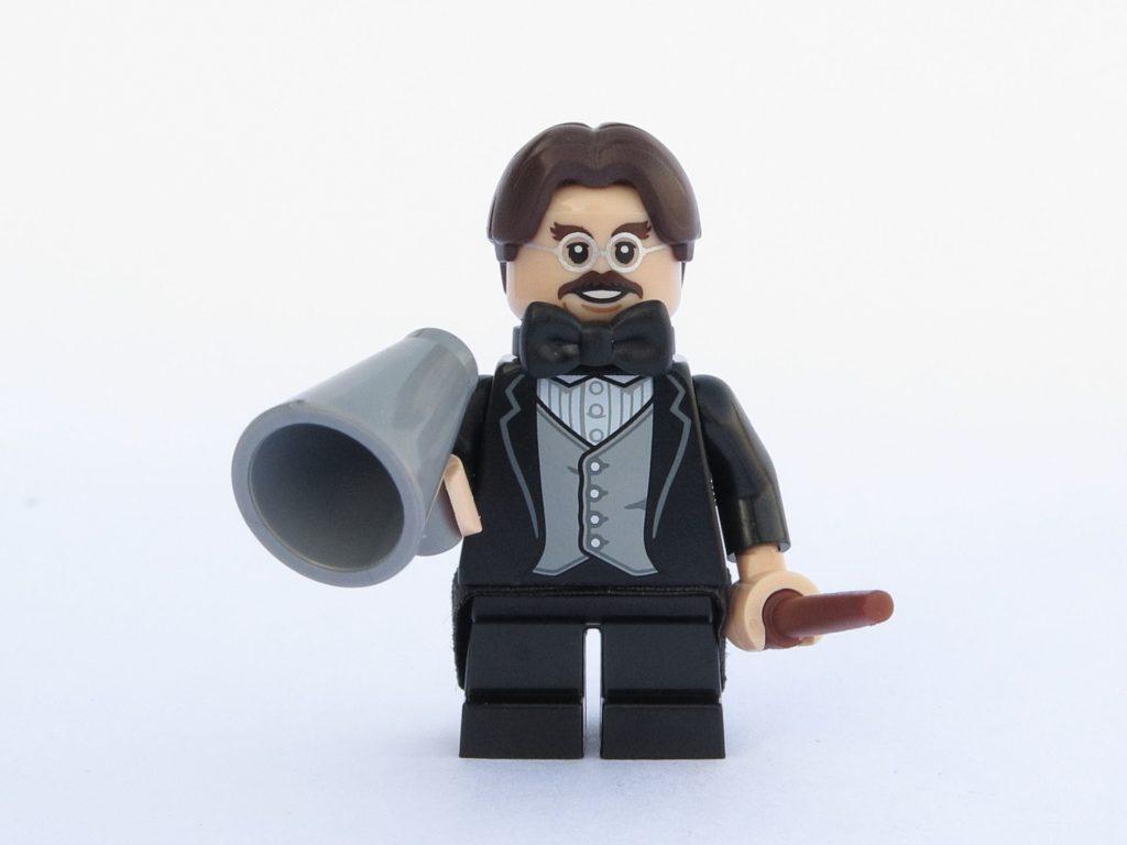 LEGO 71022 - Minifigur 13 - Professor Flitwick mit Flüstertüte | ©2018 Brickzeit