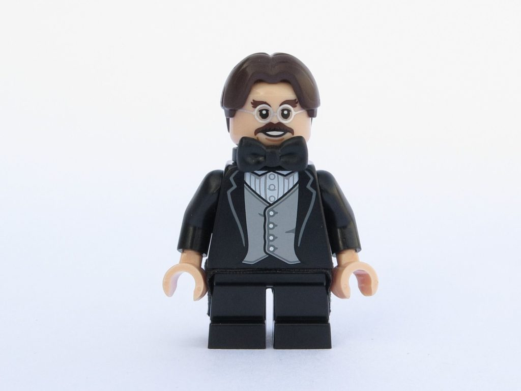 LEGO 71022 - Minifigur 13 - Professor Flitwick - Vorderseite | ©2018 Brickzeit