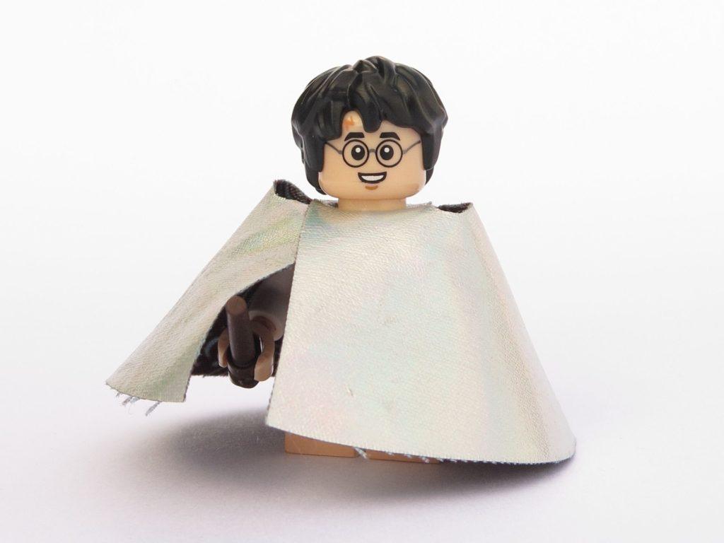 LEGO 71022 - Minifigur 15 - Harry Potter im Schlafanzug mit Unsichtbarkeitsumhang - Vorderseite | ©2018 Brickzeit