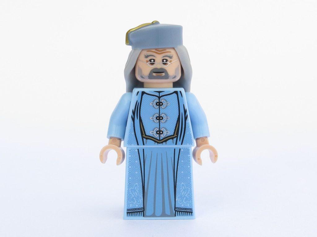 LEGO 71022 - Minifigur 16 - Albus Dumbledore - Vorderseite ohne Bart | ©2018 Brickzeit