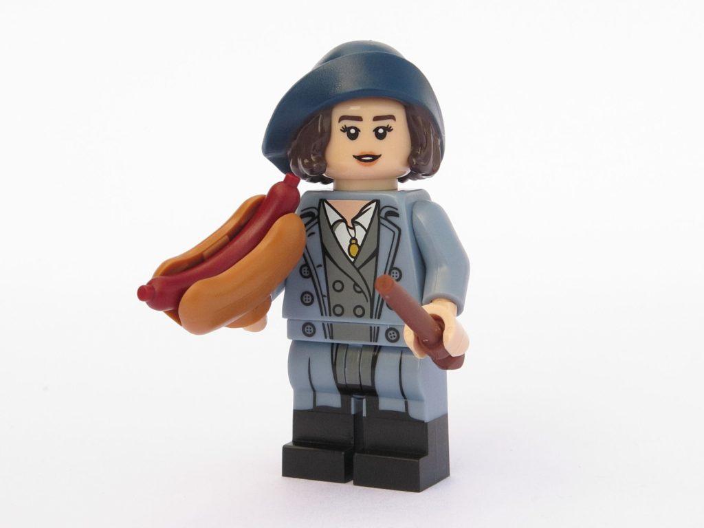 LEGO 71022 - Minifigur 18 - Tina Goldstein mit Hotdog | ©2018 Brickzeit