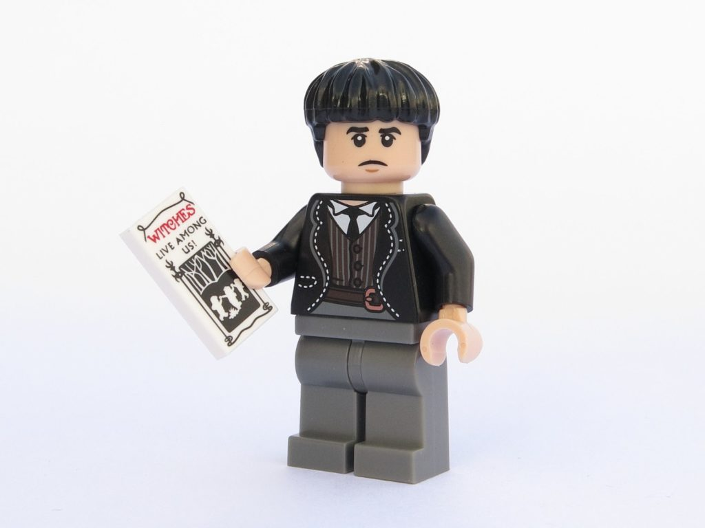 LEGO 71022 - Minifigur 21 - Credence Barebone mit Flyer | ©2018 Brickzeit
