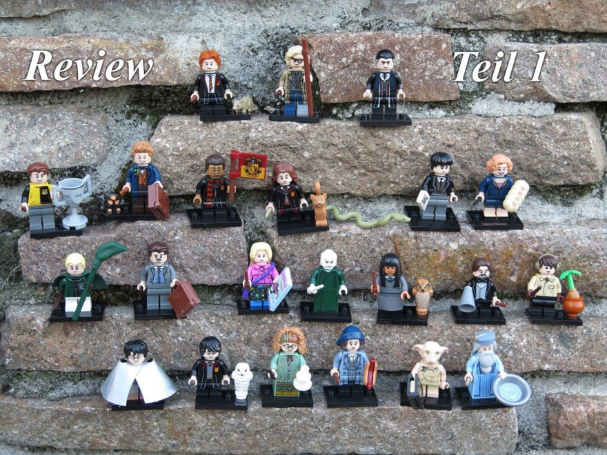 LEGO 71022 Harry Potter Minifiguren - Titelbild, Teil 1 | ©2018 Brickzeit