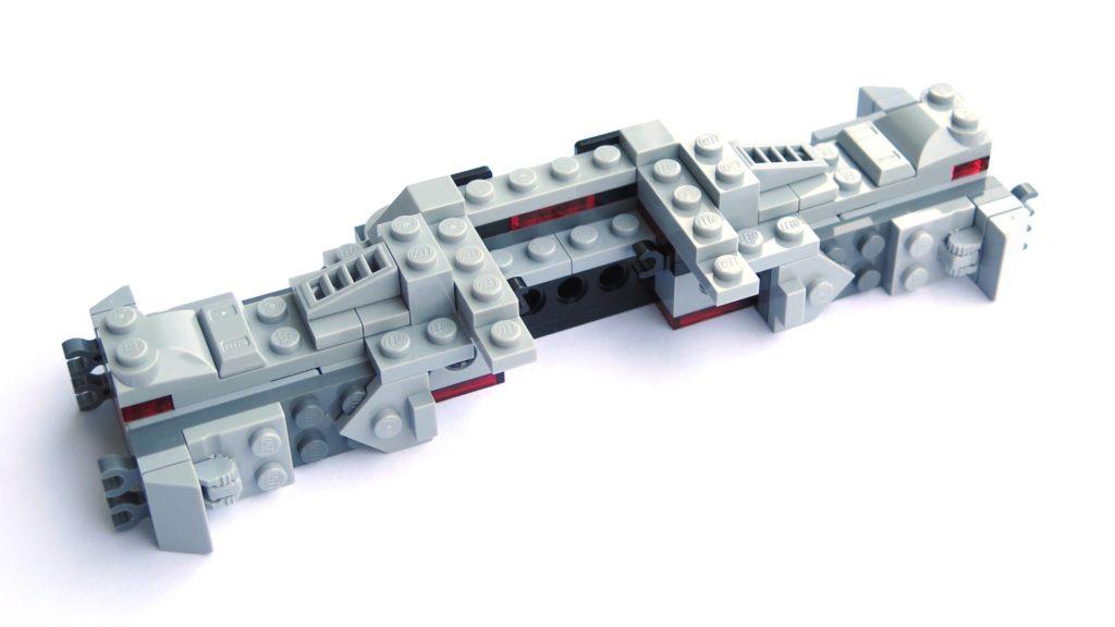 LEGO® 75211 Imperial TIE Fighter - Bauabschnitt 1 - Fertig | ©2018 Brickzeit