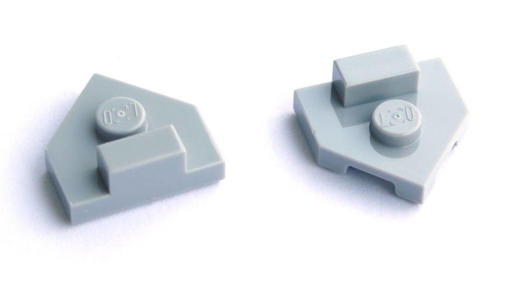 LEGO® 75211 Imperial TIE Fighter - Bauabschnitt 1 - Spezialteile | ©2018 Brickzeit