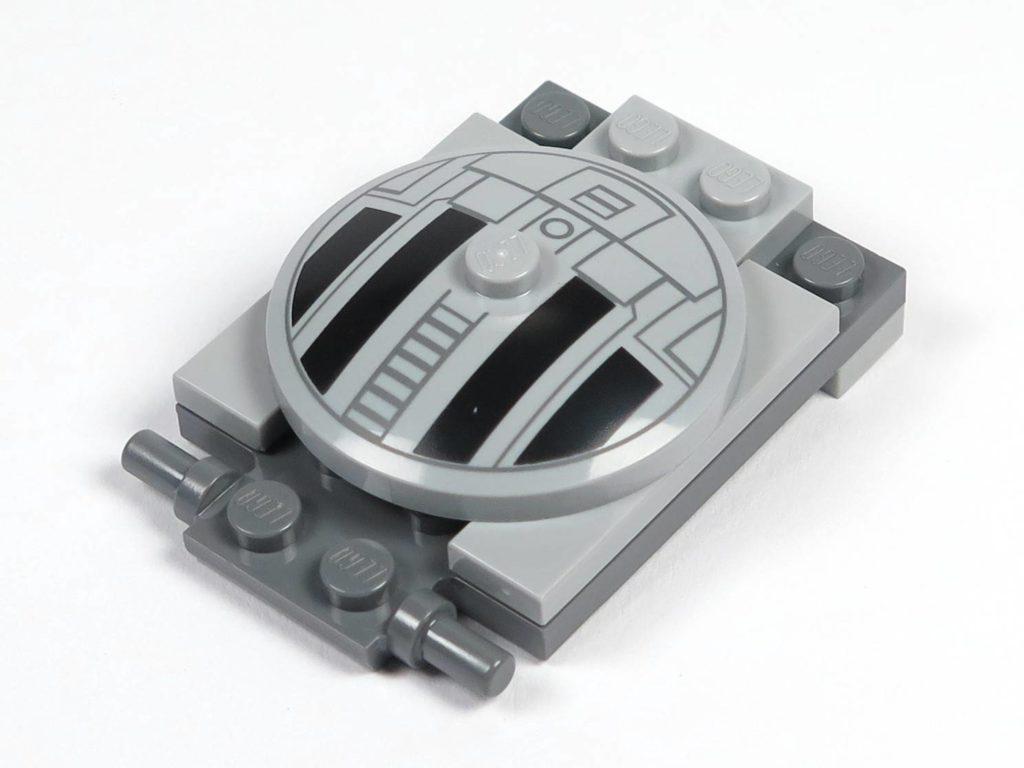 LEGO® 75211 Imperial TIE Fighter - Bauabschnitt 2 - Cockpitdach, Halterung | ©2018 Brickzeit